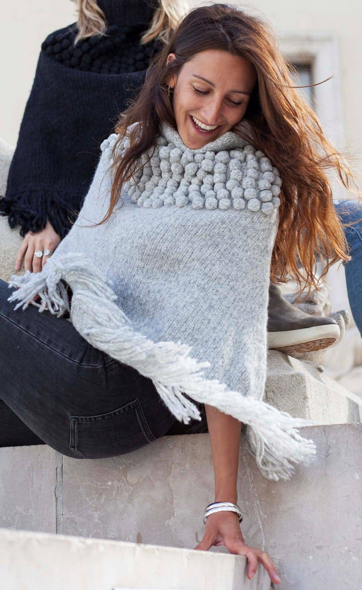 Poncho andes col roule