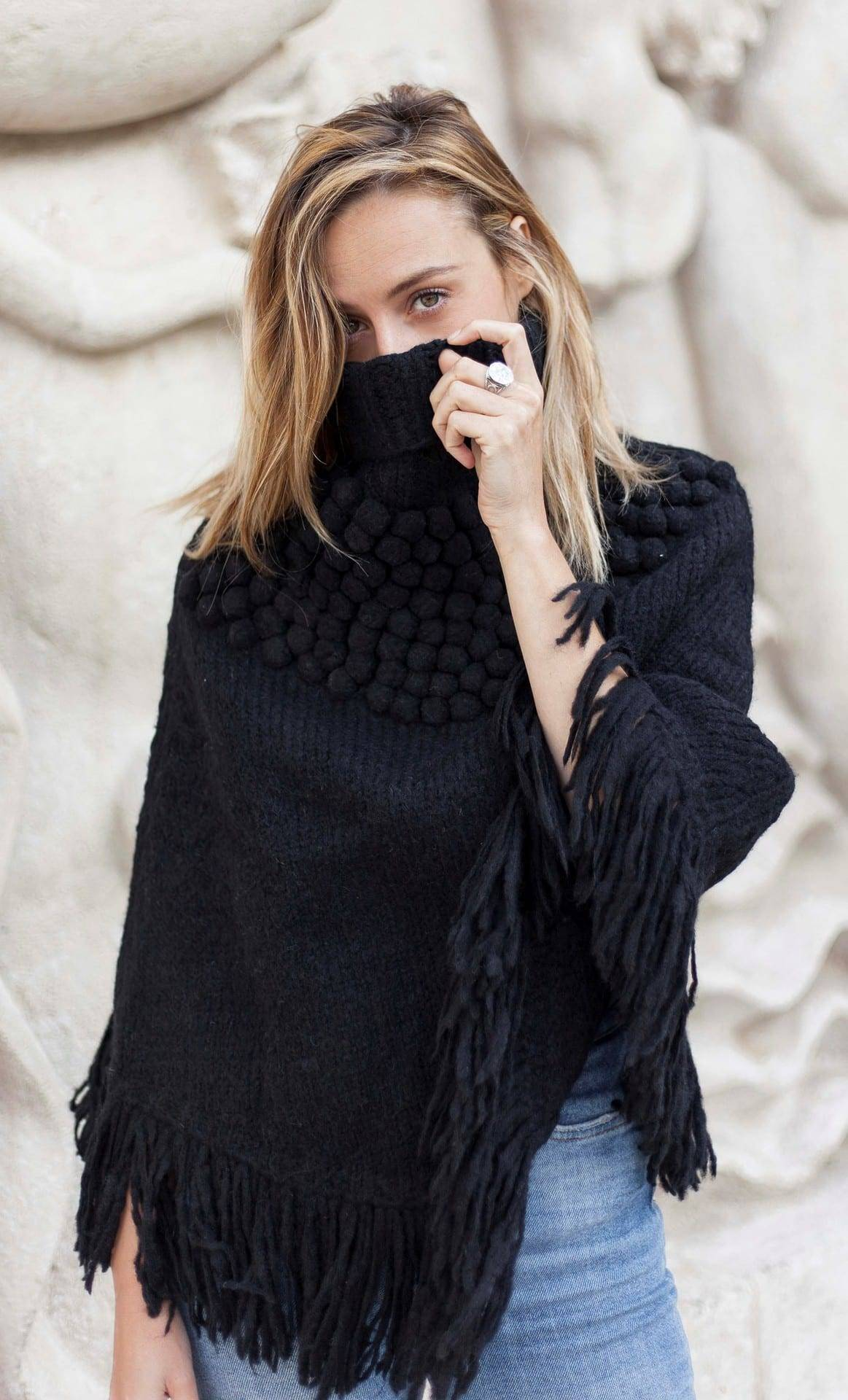 Poncho Andes black